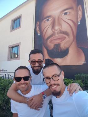 Marek má maľbu, ako Maradona