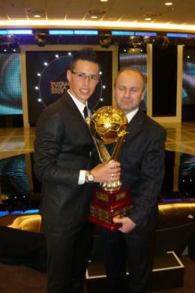Marek sa stal Futbalistom roka 2009